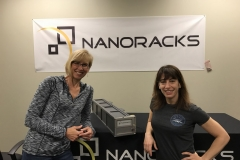 CEO, Carie Lemack at NanoRacks head