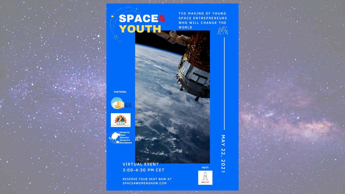 Space Youth Virtual Event poster